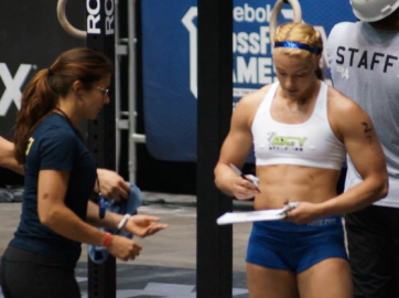 This was me at regionals - you can see what I am talking about as far as physical body difference